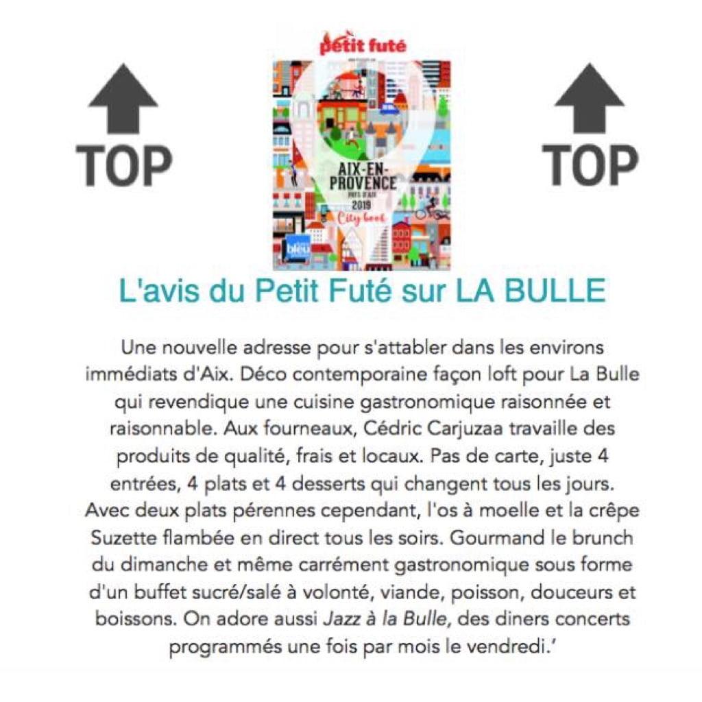 LES COMMERCES DE LA BASTIDE-La Bulle-Petit Futé 2019